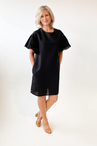 Foxwood Lagos Dress Black