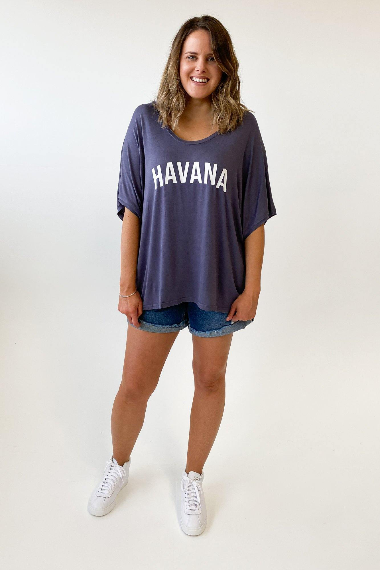 Haven Havana T-Shirt Denim