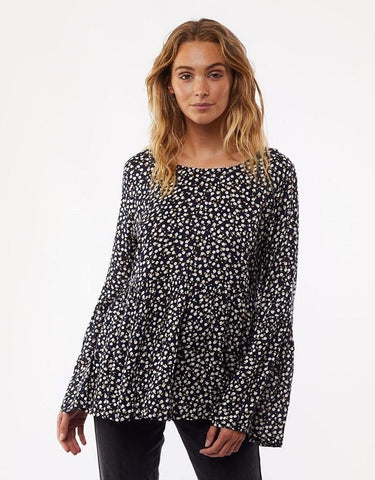 All About Eve Autumn Ditsy L/S Top Print