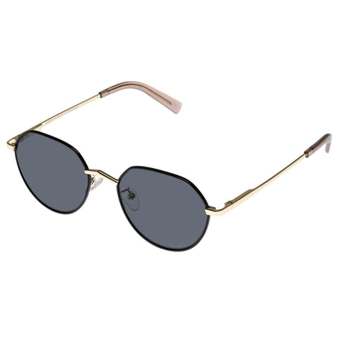 Le Specs Newfangle Black Bright Gold