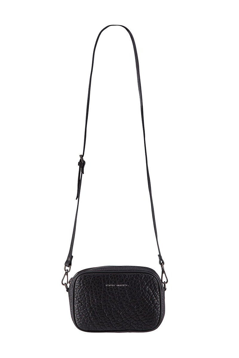 Status Anxiety Plunder Bag In Black Bubble
