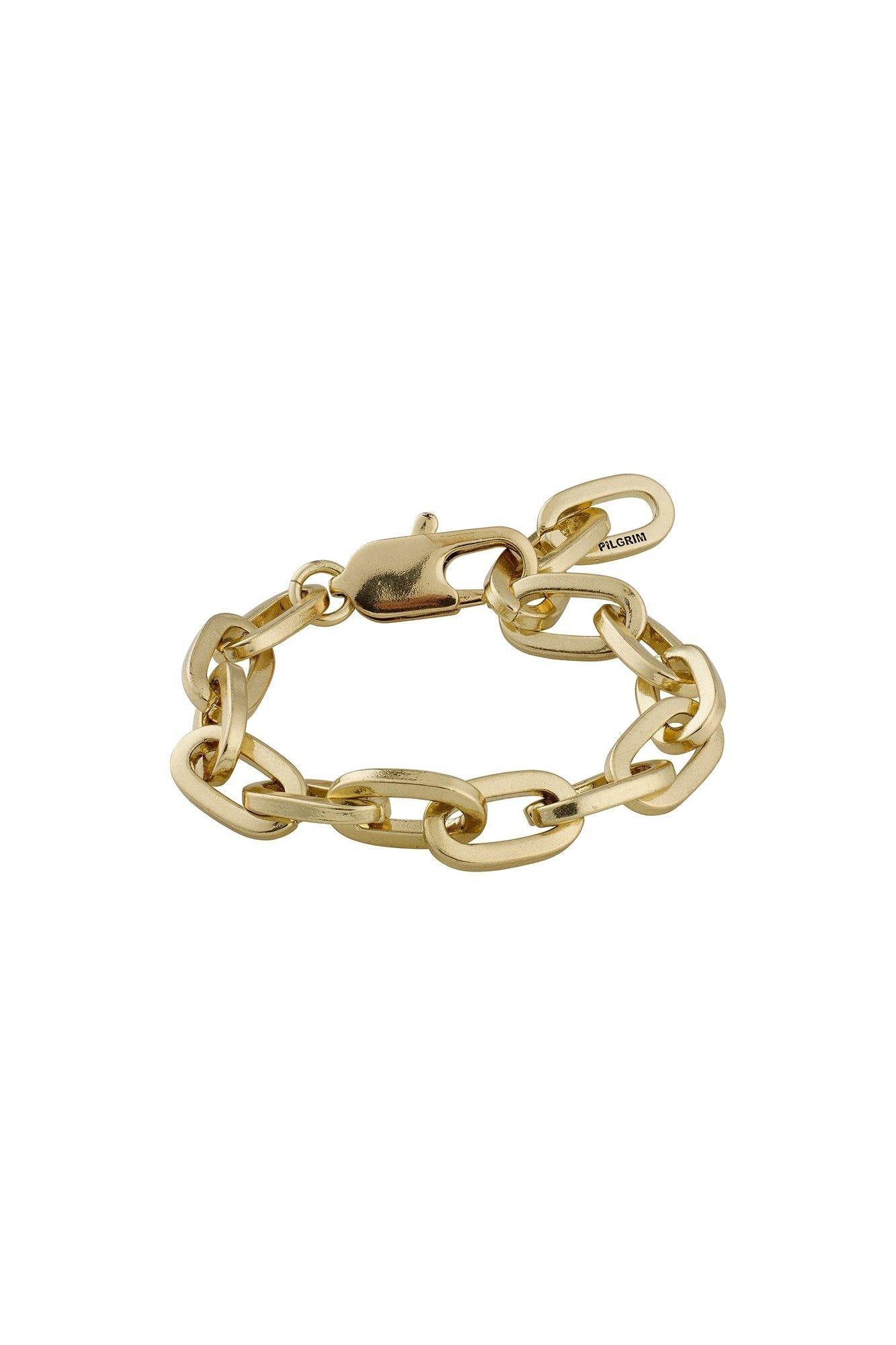 Pilgrim Tolerance Bracelet Gold Plated