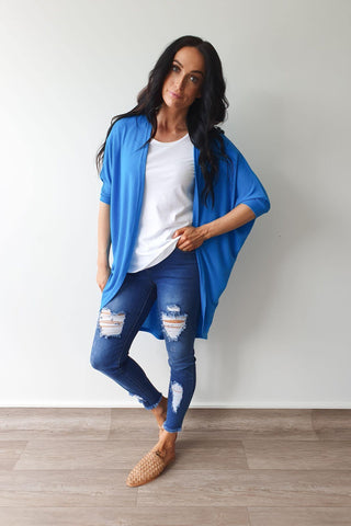 Freez Festival Shrug Turquoise Preorder Early March (2 for $89 Offer)
