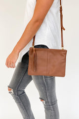 Rose & Lyle Ash Double Sling Bag Tan