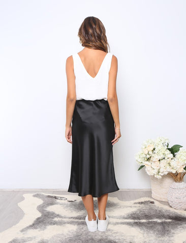 LEONI ALLA SKIRT BLACK S027LE
