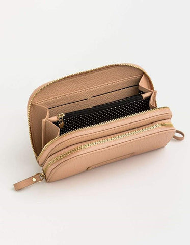 Stella + Gemma Cleo Duo Phone Wallet Black