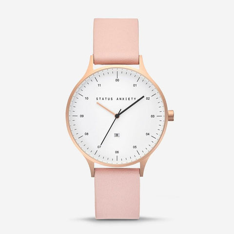 Status Anxiety Inertia Watch Blush