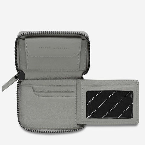 Status Anxiety Wayward Wallet Light Grey