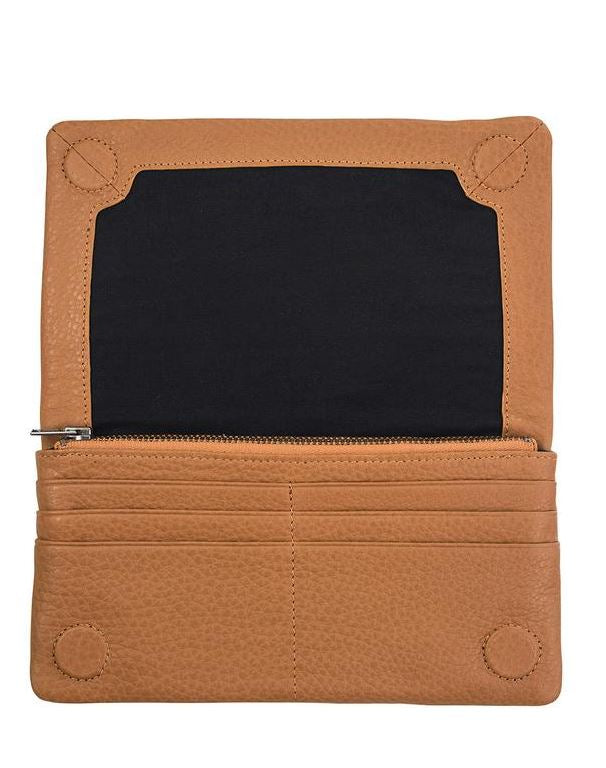Status Anxiety Wallet Some Type Of Love Tan