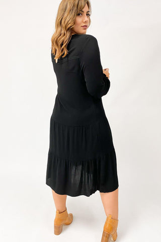 Sass Neeve Dress Black