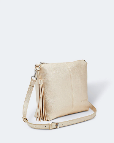 Louenhide Daisy Gold Crossbody Bag - Shine On