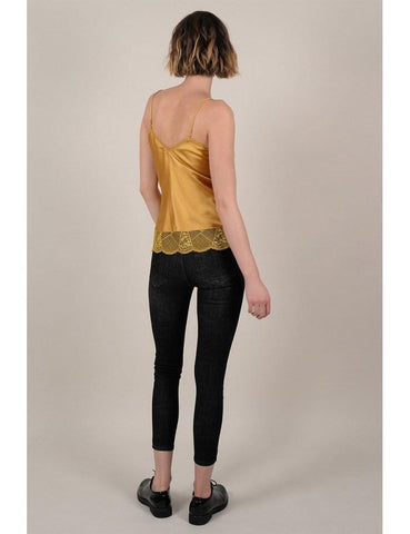 Molly Bracken Woven Camisole Saffron Yellow