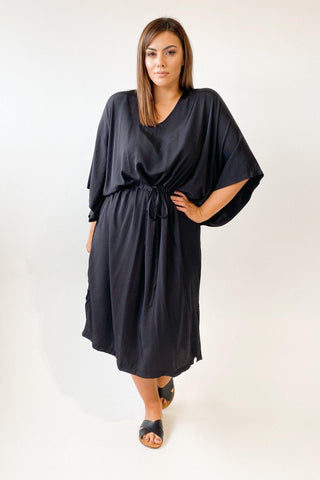 Tirelli Boxy Kaftan Black