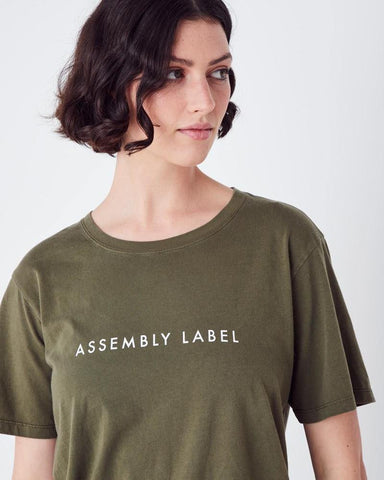 Assembly Label Logo Tee Thyme