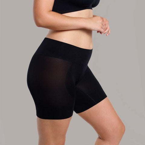 Ambra Curvesque Anti Chafing Short Black - Shine On