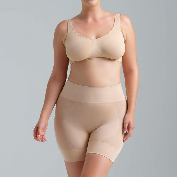 Ambra Curvesque Anti Chafing Short Nude