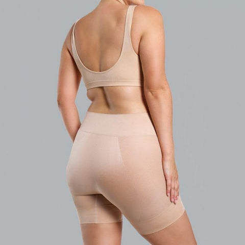 Ambra Curvesque Anti Chafing Short Nude - Shine On
