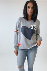 Hammill + Co Vintage 73 Sweat Grey Marle