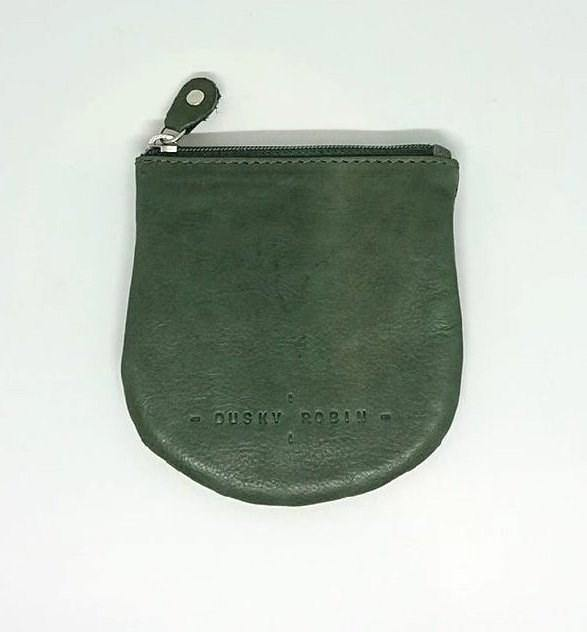 Dusky Robin Lilly Coin Purse Dark Green