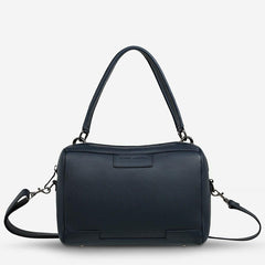 Status Anxiety Don't Ask Bag Navy Blue