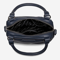 Status Anxiety Last Mountains Bag Navy Blue