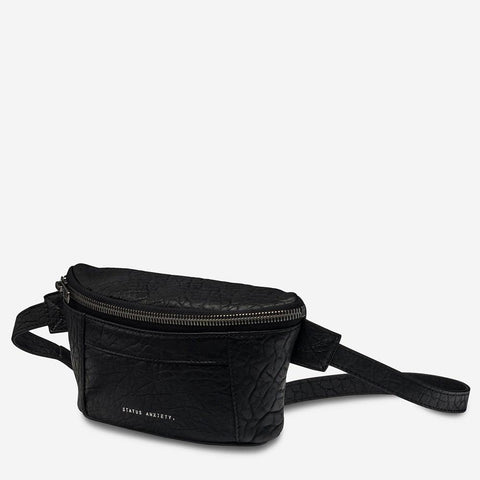 Status Anxiety Best Lies Bum Bag Black Bubble