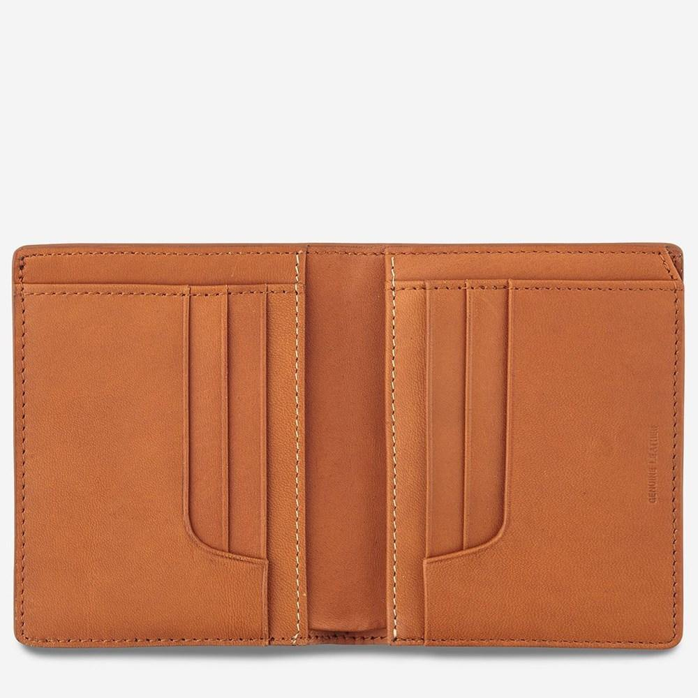 Status Anxiety Nathaniel Mens Wallet Camel