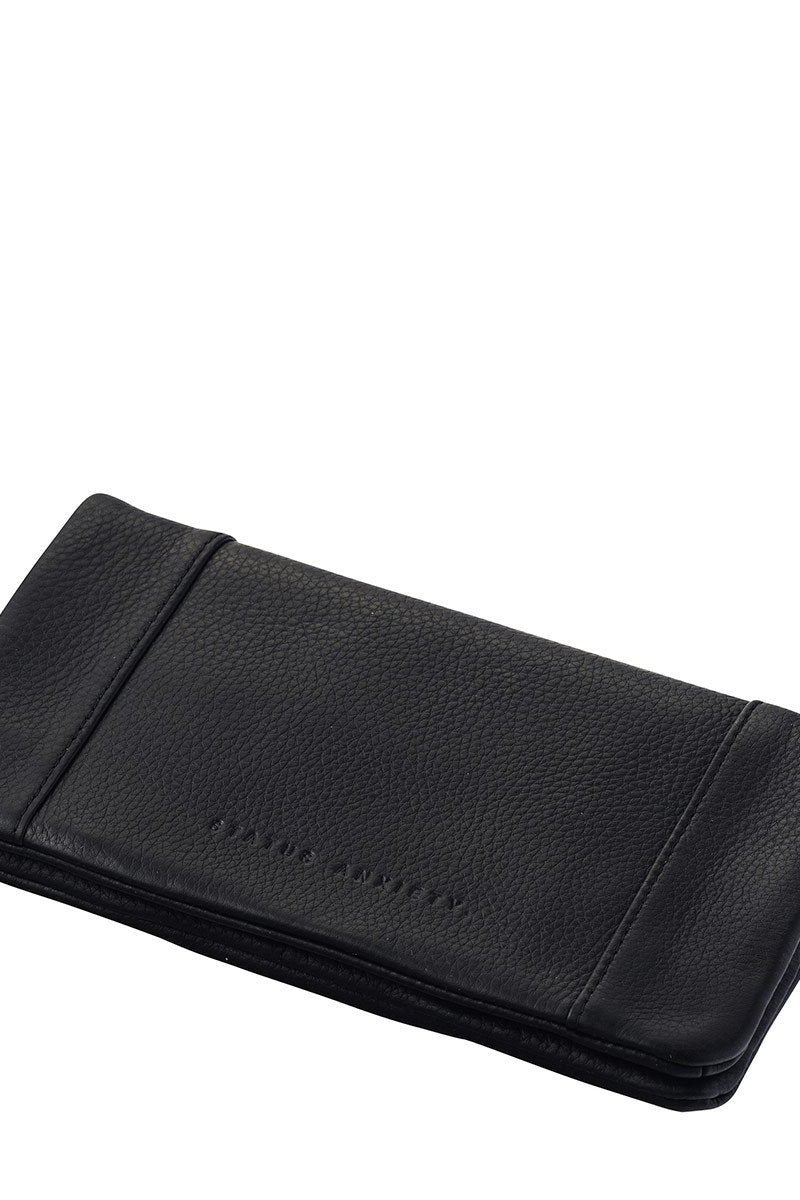 STATUS ANXIETY WALLET - SOME TYPE OF LOVE - BLACK