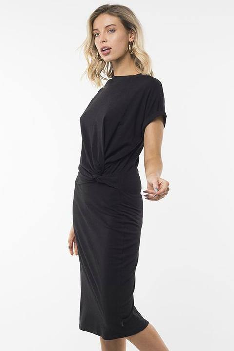 Silent Theory Warped Dress Black