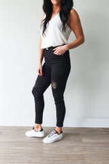 Wakee Denim Sammy Jean Black