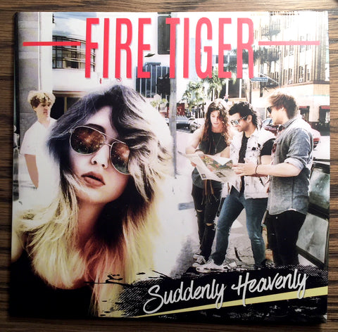 Fire Tiger 'Suddenly Heavenly' Album CD w/ Lyric Booklet