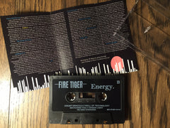 Fire Tiger 'Energy' Album Cassette with Lyric Booklet