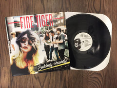 2018 Fire Tiger 'Suddenly Heavenly' 12' Vinyl Record Album with Lyric Booklet
