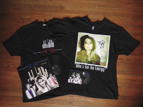Featured:  Our Autographed Vinyl, CD, and T-Shirt Bundle!!