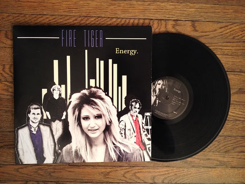 "Fire Tiger 'Energy' 12"" Vinyl Record Album with Lyric Booklet"