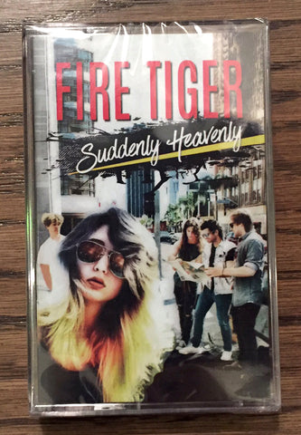 Fire Tiger 'Suddenly Heavenly' Album Cassette with Lyric Booklet