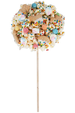 Birthday Cake Popcorn Lollipop