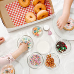 DIY donut decorating kit