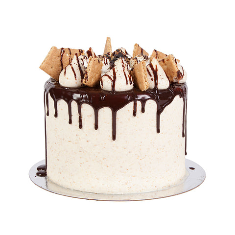 Jacked-Up S'mores Cake