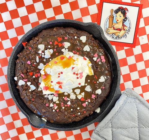 DIY Brownie skillet for two