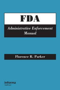 FDA Administrative Enforcement Manual