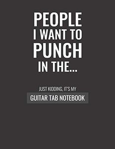 Guitar Tab Notebook: 110 pages