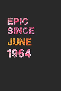 EPIC SINCE JUNE 1964: Awesome ruled notebook