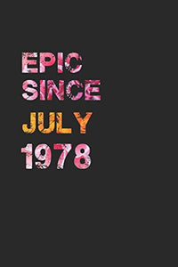 EPIC SINCE JULY 1978: Awesome ruled notebook