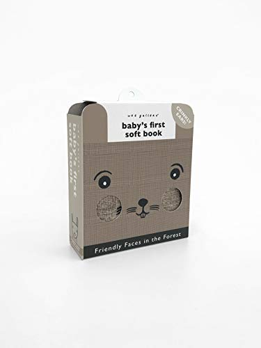 Friendly Faces In the Forest (2020 Edition): Baby's First Soft Book (Wee Gallery Cloth Books)
