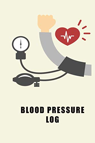 Blood Pressure Log: Track and Monitor Your Blood Pressure Daily
