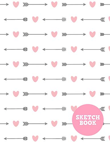 Sketch Book: Pretty Note Pad for Drawing, Writing, Painting, Sketching or Doodling - Art Supplies for Kids, Boys, Girls, Teens Who Wants to Learn How to Draw - Vol. 00219