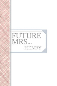 HENRY: Future Mrs Henry: 90 page sketchbook 6x9