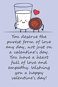 Valentines day gifts : You deserve the purest form of love any day, not just on a valentine's day: Notebook gift for best friend|Valentine's Day Ideas For friends | Anniversary | Birthday