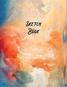 "Sketch Book: Large Notebook for Drawing, Painting, Writing, Sketching or Doodling, 8.5x11"" White Paper (Abstract Cover Design vol.13)"